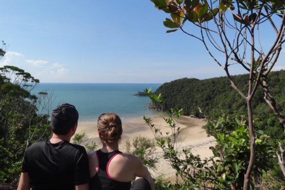 toller Strand im Bako Nationalpark, Borneo