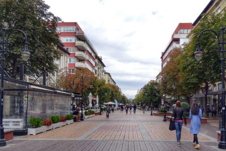 Sofia Boulevard Vitosha