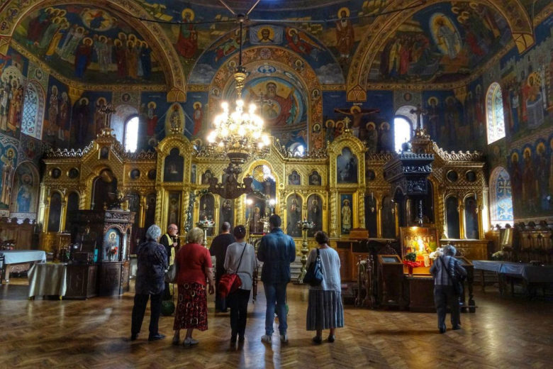 Sofia Sveti-Sedmochislenitsi-Kirche von innen
