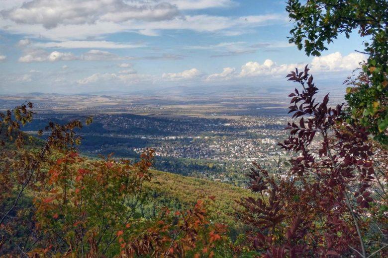 Ausblick auf Sofia vom Vitosha-Gebirge