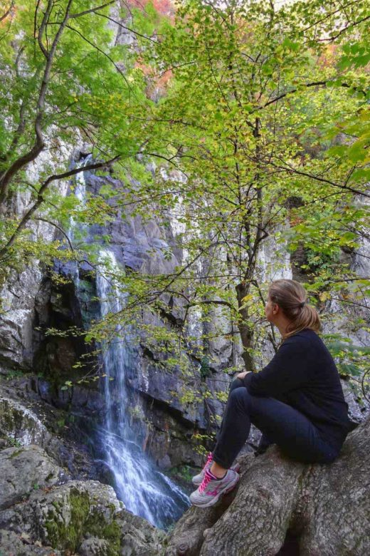 Bojana-Wasserfall im Vitosha-Gebirge