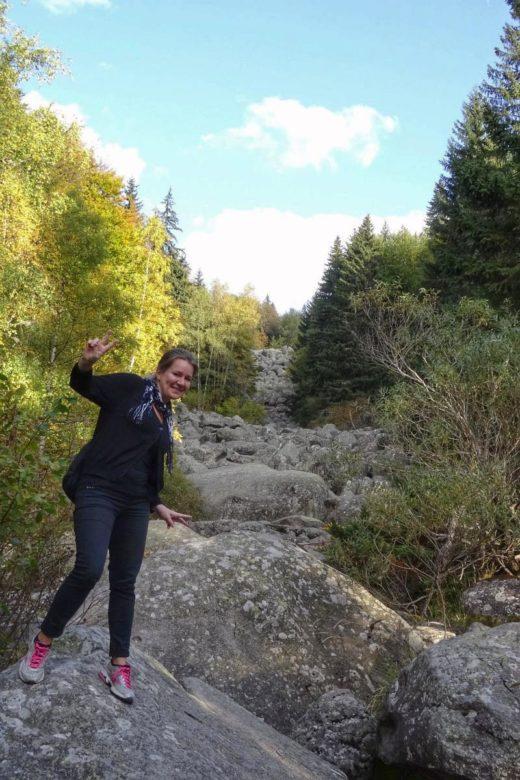 Goldene Brücken Vitosha-Gebirge