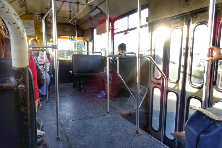 Bus vom Vitosha-Gebirge nach Sofia