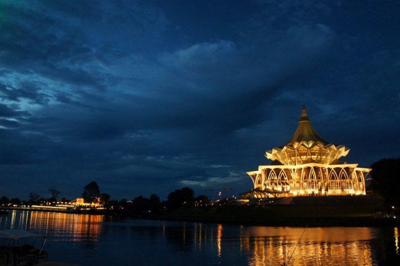 Parlament in Kuching - Borneo