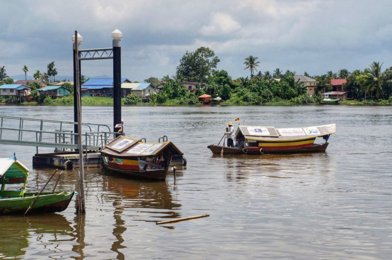 Uferpromenade in Kuching - Borneo