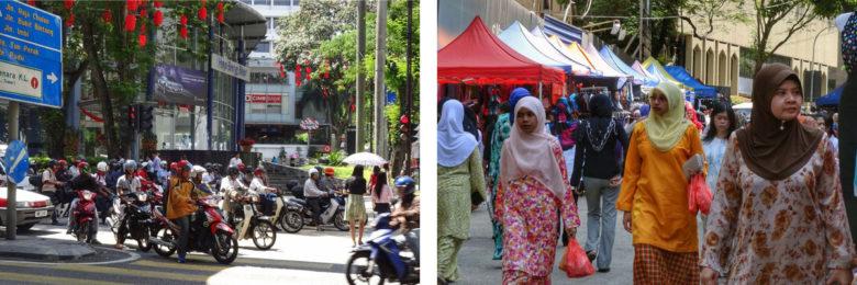 Rush hour in Malaysia