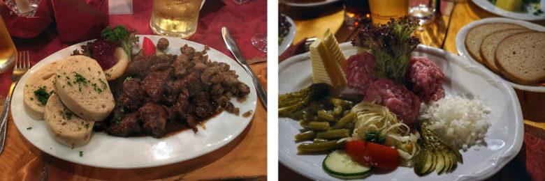 Essen im Erzgebirge