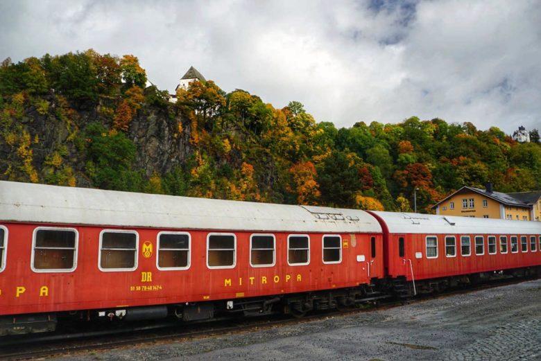 Zugrestaurant Wolkenstein im Erzgebirge