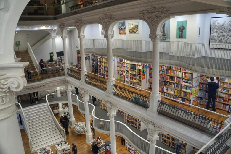 Bukarest Buchhandlung Cărtureşti Carusel