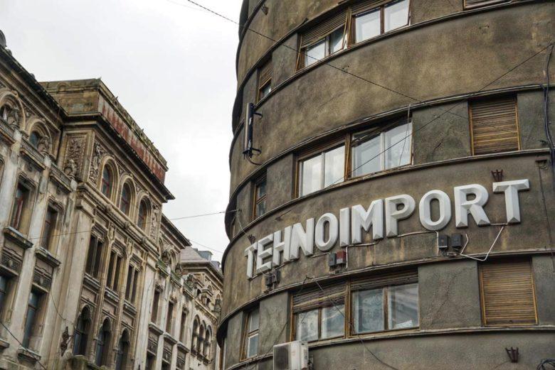 Bukarest Lipscani Altstadt Bauwerk