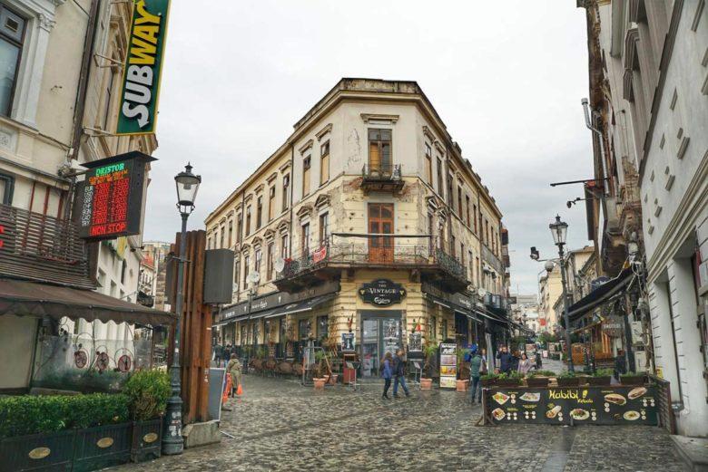 Bukarest Lipscani Altstadt Zentrum
