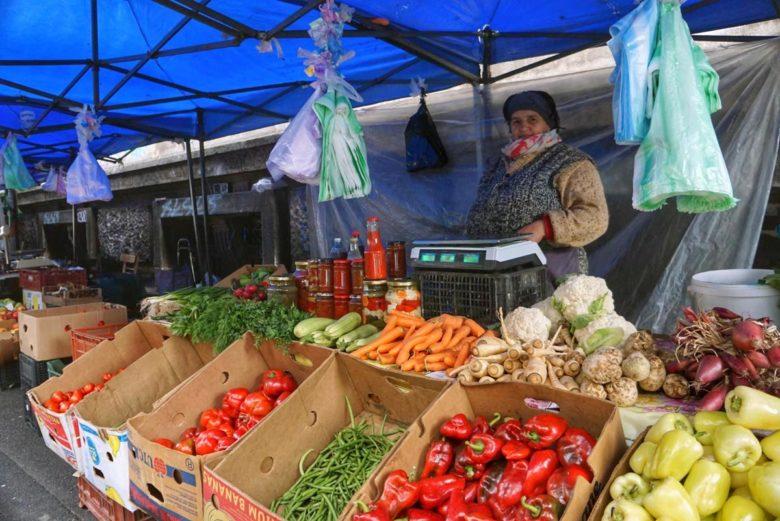 Bukarest Marktfrau