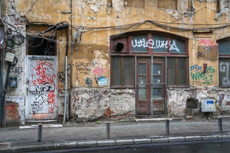 Bukarest unsanierter Altbau