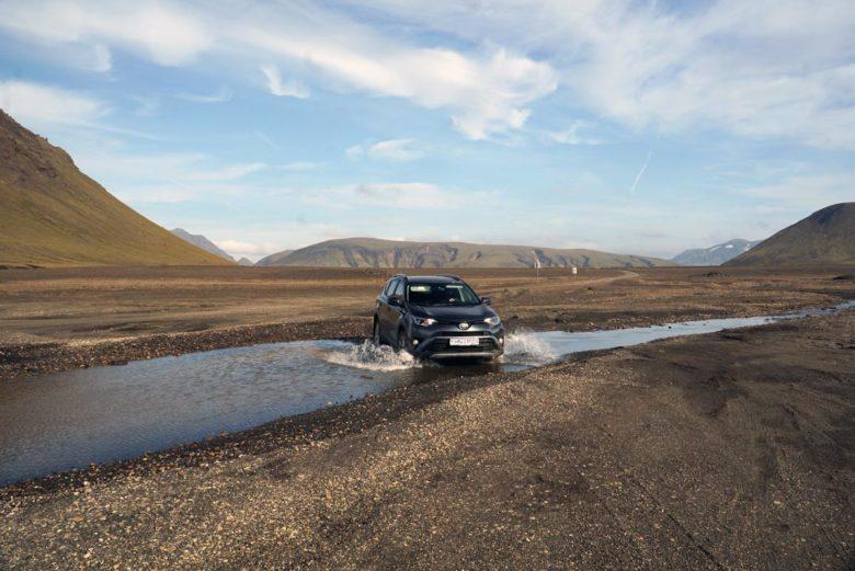 Roadtrip Island - Hochland Furtenquerung