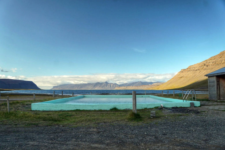 Island Hot Pool Reykjafjardarlaug