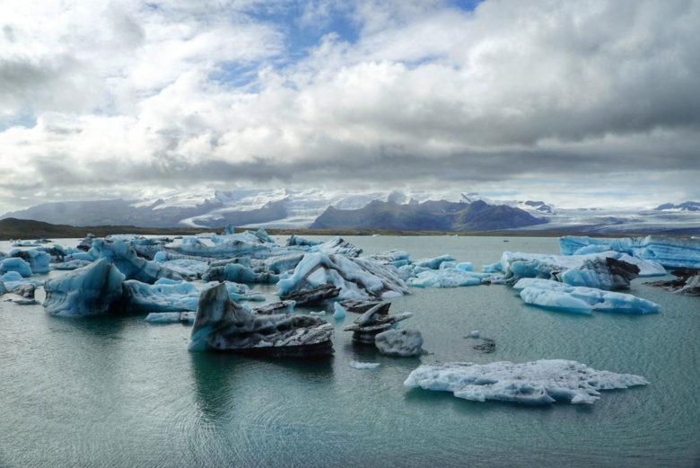 Island Jökullsarlon-Gletscherlagune