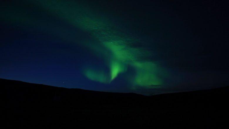 Island Polarlichter in den Westfjorden