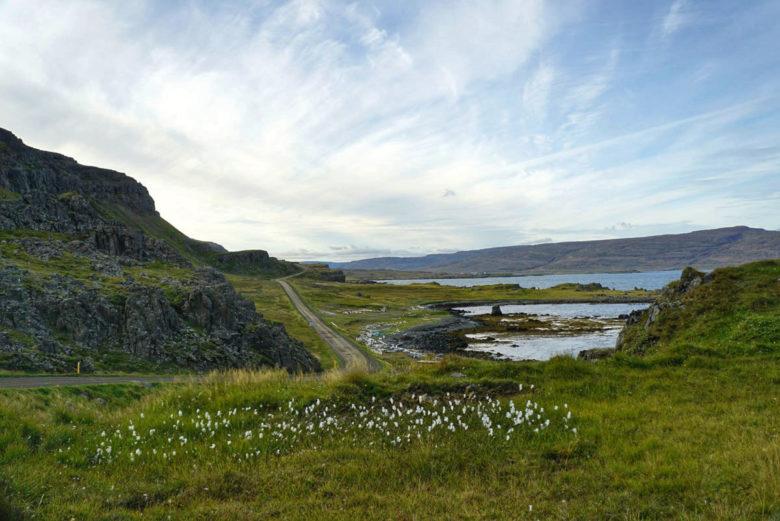 Island Westfjorde Fjordlandschaft