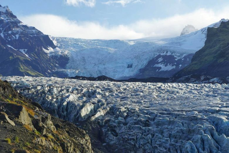 Island Momente Gletscher