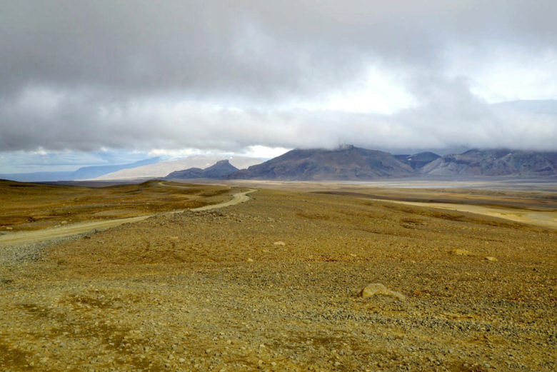 Island Momente Schotterpisten