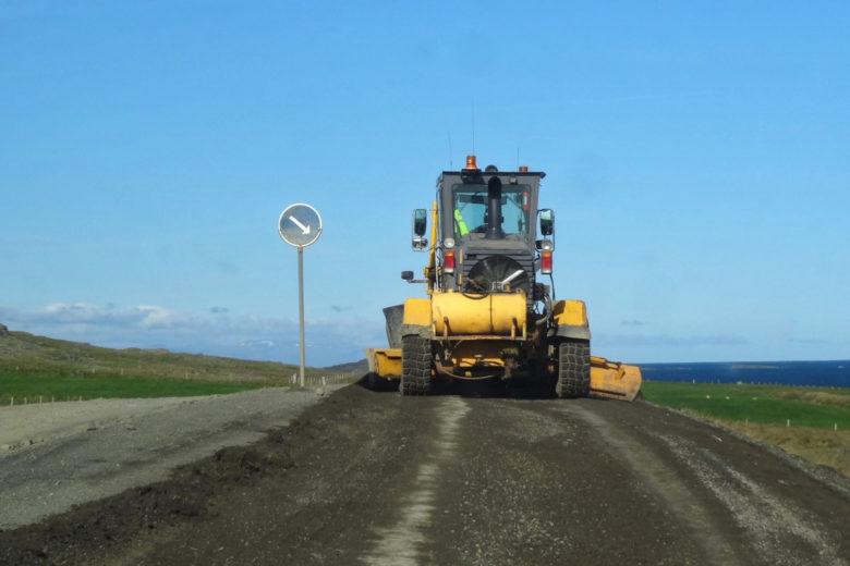 Island Momente Straßen