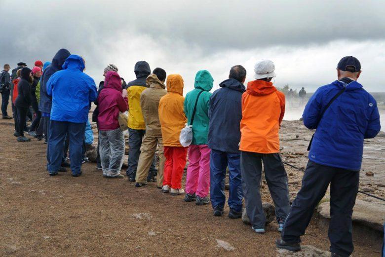 Island Momente Touristen