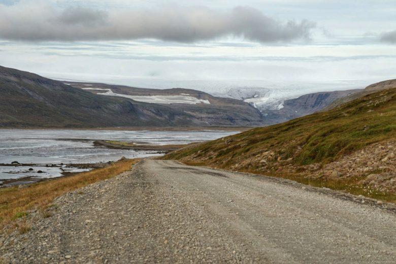 Roadtrip Island Drangjökull-Gletscher