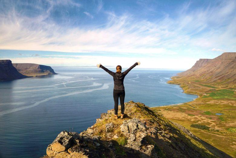 Island Myrarfjall Westfjorde
