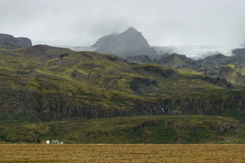 Islands riesige Berge