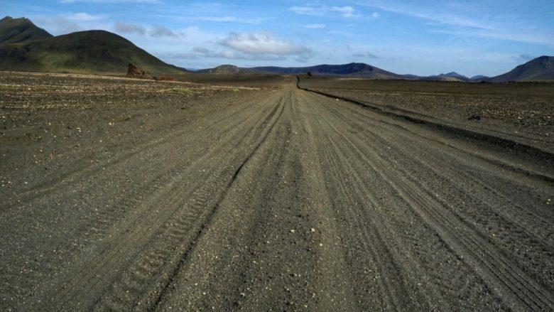 Island Aschestraße im Hochland