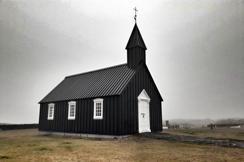 Island Budir Kirche