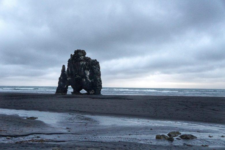 Island Hvitserkur Felsen