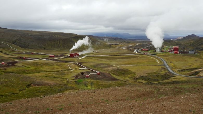 Island Krafla Energiewerk
