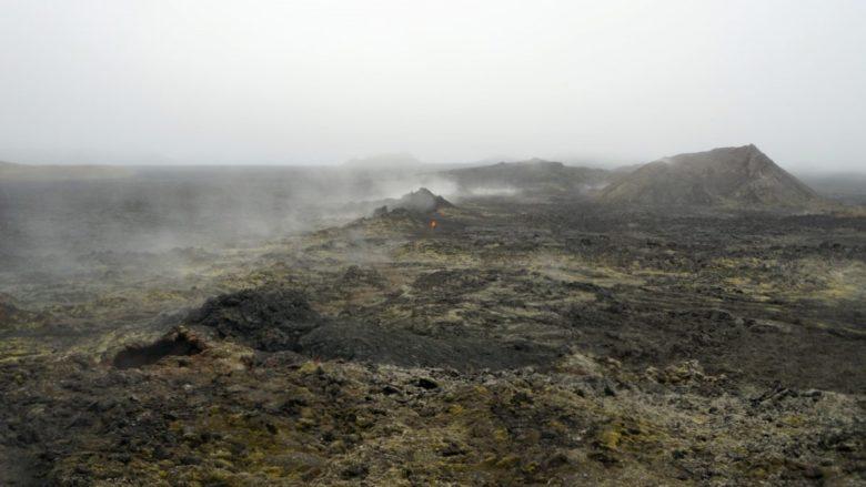 Island Krafla Mondlandschaft