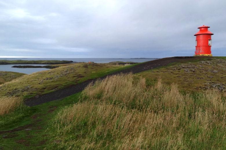 Island Leuchtturm in Stykkisholmur