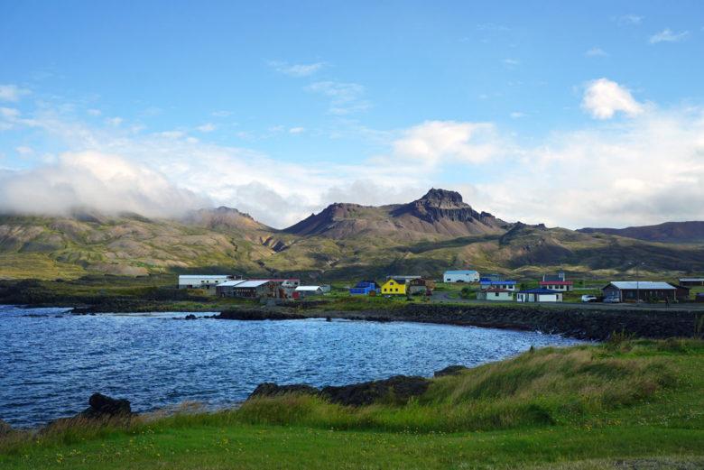 Island Ostfjorde Bakkagerdi