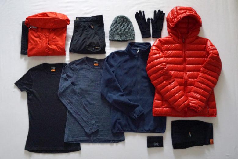 Packliste Island - Kleidung Anita