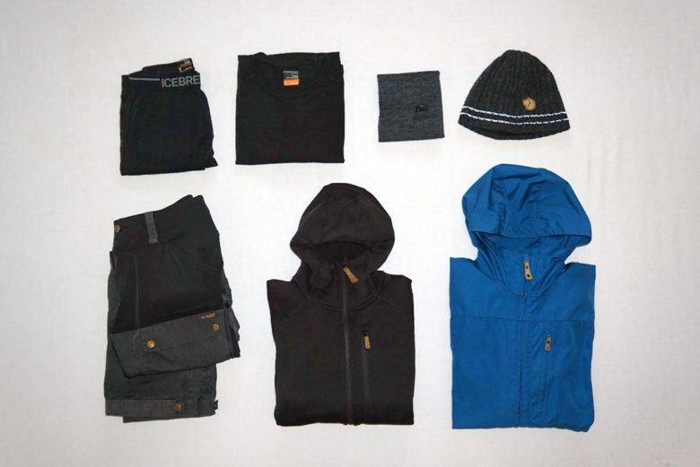 Packliste Island - Kleidung Ronny