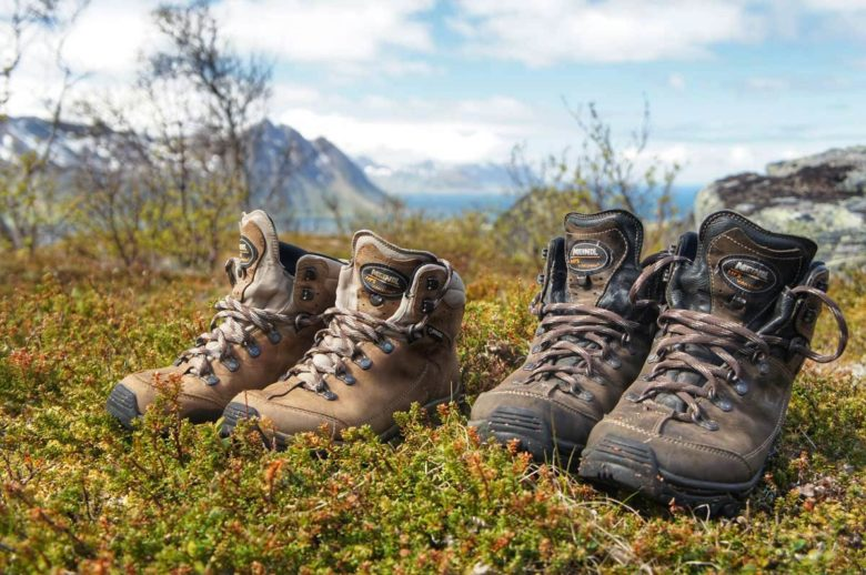 Packliste Island - Schuhe