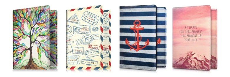 Geschenke Reise - Reisepasshüllen
