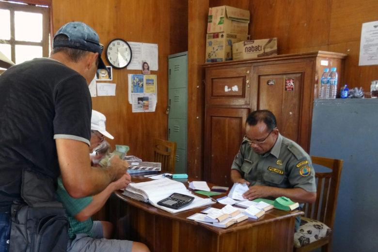 Komodo Nationalpark Ticketoffice