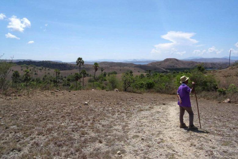 Komodo Nationalpark - langer Walk