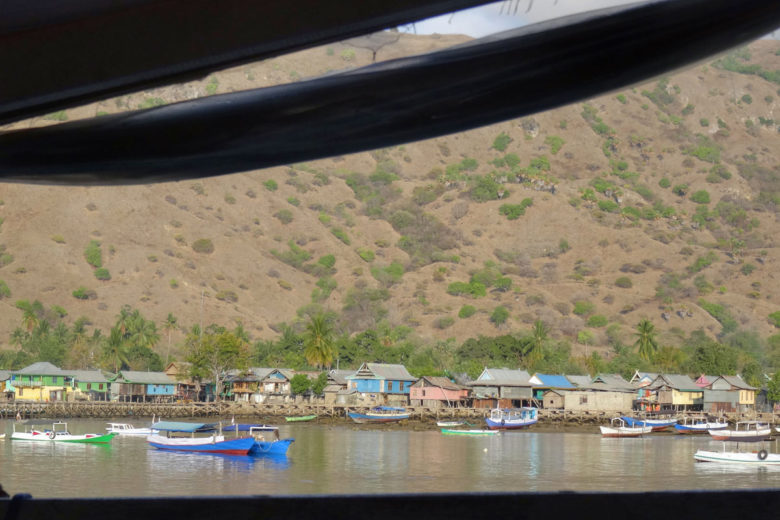 Komodo-Trip - Dorf