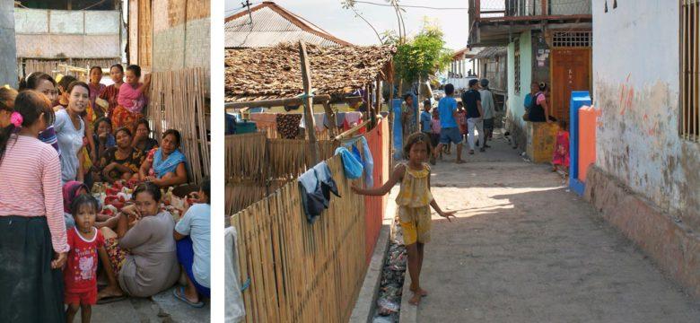 Komodo-Trip Bewohner auf Medang
