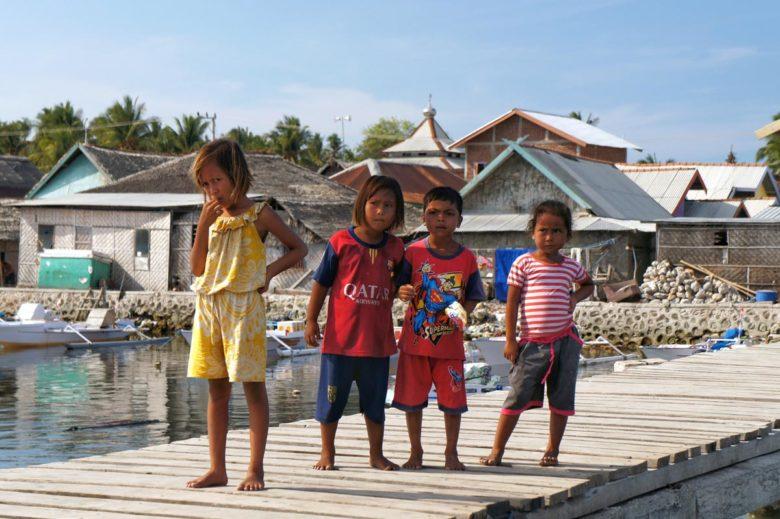 Komodo-Trip Kids auf Medang