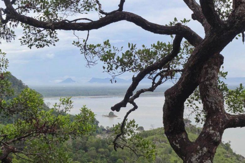 Aussicht auf Borneo