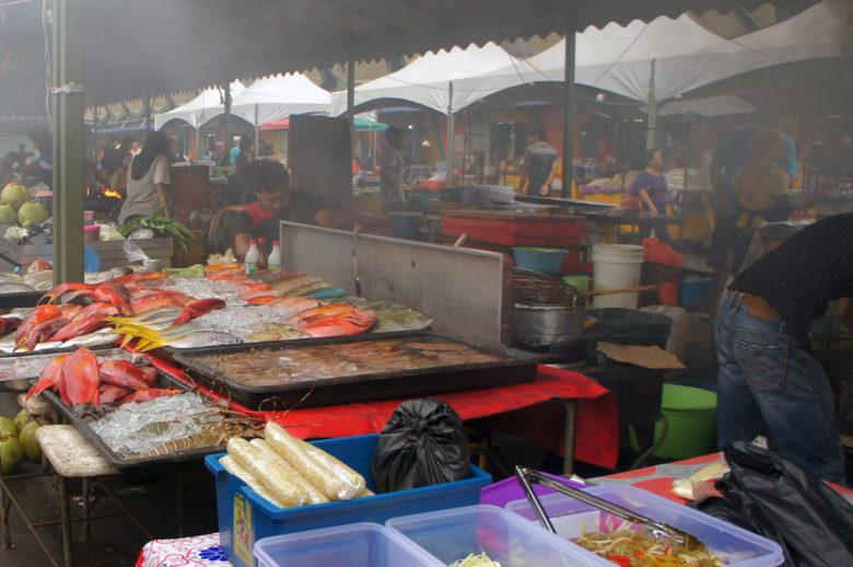 Kota Kinabalu Food Market