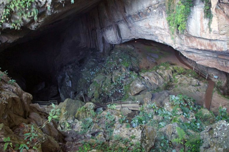 Mulu Nationalpark Clearwater Cave Eingang