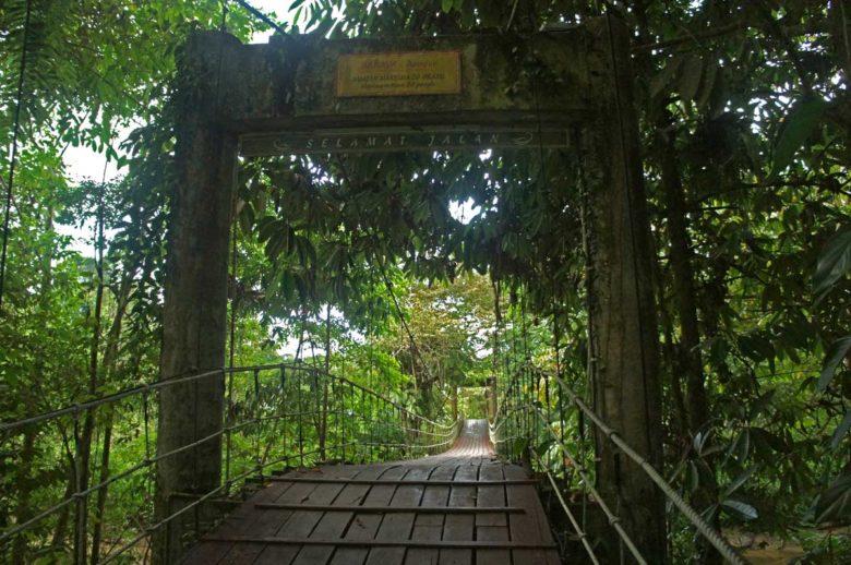 Mulu Nationalpark Eingang