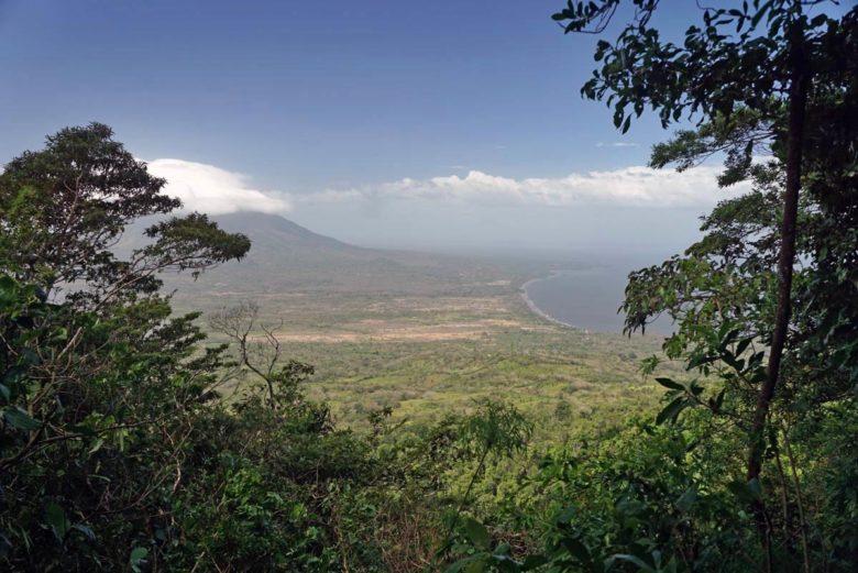 Viewpoint auf den Vulkan Conceptión